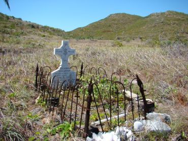 The grave of Frederick Lancaster. Photo: Queensland Government.