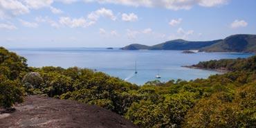 View over Solway Passage, Whitsunday Island. Photo: J Heitman.