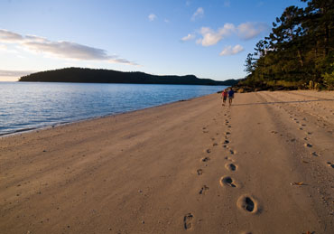 Never leave anything but your footprints behind. Photo: J Heitman.