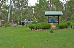 Crows Nest picnic area. Photo: Charlie Finn © Queensland Government