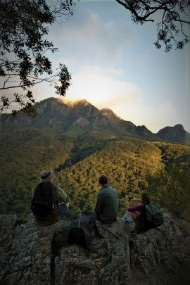 Yellow Pinch lookout is the best location to take in the views of Mount Barney. Photo: Steve Browne, Queensland Government.