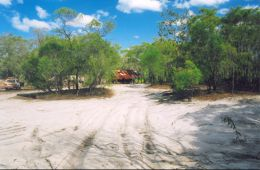 Image of camp site 6 North Jardine River camping area.