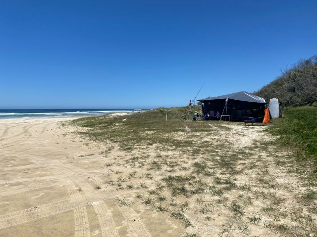 Image of Teewah Beach camping area zone 3