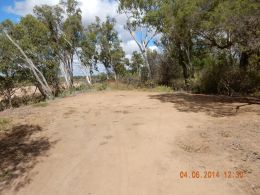 Camp site 3, Burdekin River camping area.