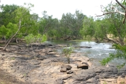 The Normanby River near Kalpowar Crossing. Photo: Queensland Government.