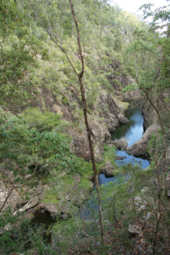Image of the view from Narrows lookout.