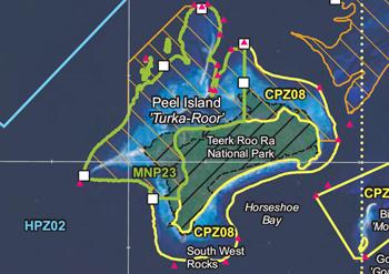 Peel Island conservation zones
