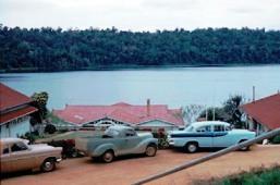 Lake Barrine in July 1961.