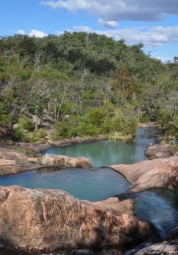 Waterfall Creek section features a walk to the Rock pools. Photo: Brian Tighe, Queensland Government.