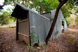 Remnant building at Old Breeza Homestead. Photo: Adam Creed, Queensland Government.
