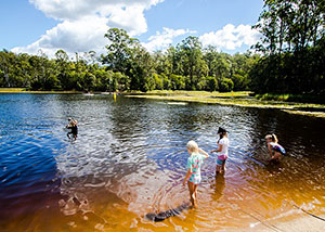Discover the tranquility of Enoggera Reservoir.