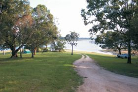 Downfall Creek camping area.