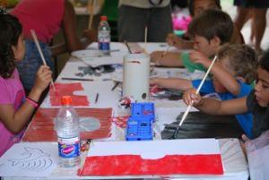 Art is a focus of Butchulla culture. Photo: Matt Lowry, Queensland Government