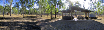Lake Murphy Conservation Park picnic and camping area. Photo: Robert Ashdown © Queensland Government