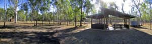 Image of the Lake Murphy Conservation Park picnic and camping area.