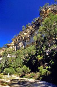Precipice Sandstone, Robinson Gorge. Photos: Robert Ashdown © Queensland Government