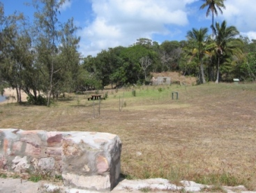 Newry Island's camping area. Photo: Queensland Government