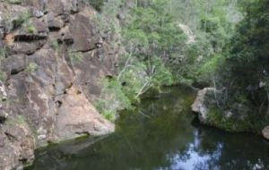 Rocky Hole, Mount Mee section of D'Aguilar National Park. Photo: Queensland Government.
