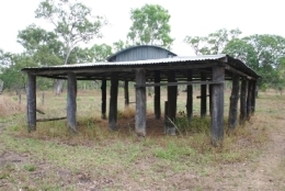 Remnant building at Old Laura Homestead. Photo: Roger Fryer, Queensland Government.