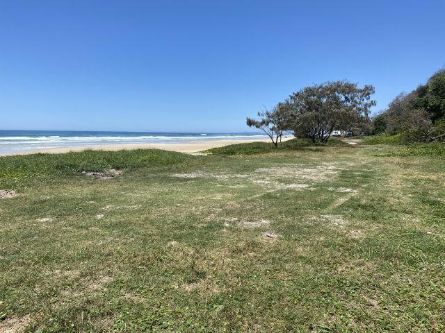 Image of Teewah Beach camping area zone 7