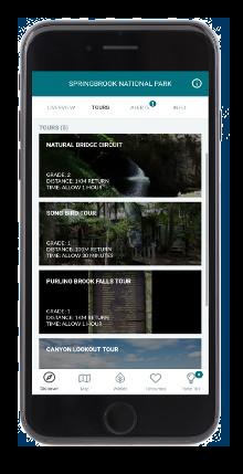 MyRanger app park information