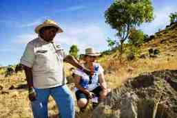The Waanyi people are the Aboriginal Traditional Owners of Boodjamulla. Photo: Mark Nemeth, Qld Govt.