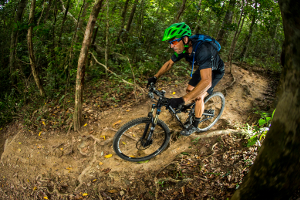 Mountain bikers should wear appropriate protective gear on the trails. Photo: ©Tourism Tropical North Queensland