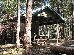 Light Line Road bush camp.