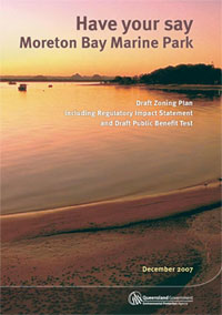 Cover of 'Have your say: Moreton Bay Marine Park'