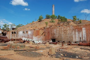 Chillagoe Smelters, Chillagoe-Mungana Caves National Park. Photo © Queensland Government.