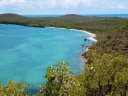 Beach access on Possession Island.