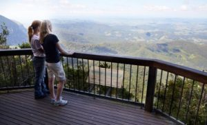 Take in the breath-taking views of Mount Warning from Best of All lookout. Photo: Maxime Coquard, Queensland Government.