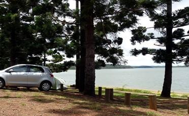 Platypus camping area.