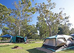 Coochin Creek camping area.