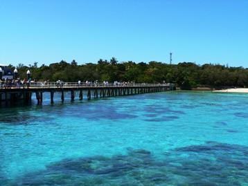 Green Island jetty. Photo: Tamara Vallance, Queensland Government