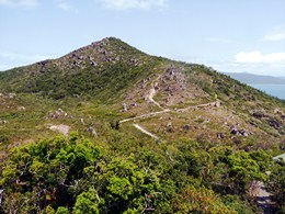 Climb to the 269 m summit of Fitzroy Island. Photo: Tamara Vallance, Queensland Government