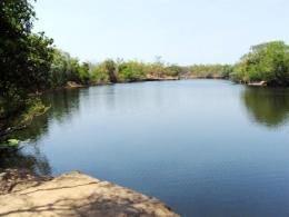 The North Kennedy River near Hann Crossing.