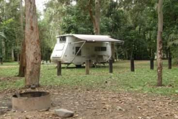 Broadwater camping area.