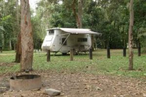 Broadwater camping area.