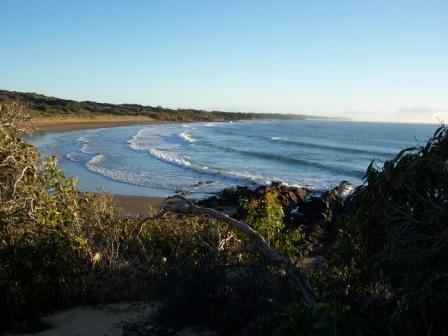 Camp along some of Curtis Island's secluded beaches. Photo: D. Marshall, Queensland Government