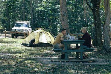 Wallaman Falls camping area. Photo: Steven Nowakowski © Queensland Government
