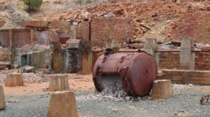 Image of Chillagoe Smelters which is an historical industrial site.