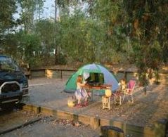 School Point camping area.