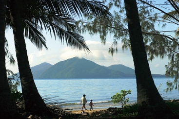 Dunk Island sits just off shore from Mission Beach, North Queensland. Photo: Tourism Queensland.