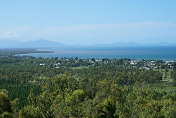 A view from Cardwell lookout, Cardwell Forest Drive. Photo: Queensland Government.
