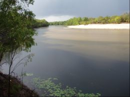 View from South Jardine River camping area. Photo: James Newman, Queensland Government.