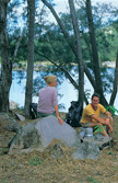 Blanket Creek walkers' camp. Photo: Queensland Government.