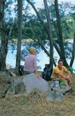 Image of Blanket Creek walkers' camp.