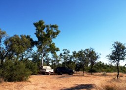 Image of Miyumba camping area offers a remote camping experience, with few facilities. Photo: Tamara Vallance.
