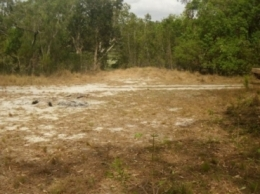 Camp site one at Sweetwater Lake camping area. Photo: Queensland Government.